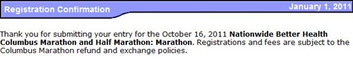 columbus marathon registration