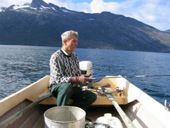 pappa paa fisketur