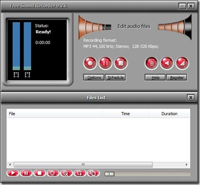 free sound recorder 9.2.6Captura