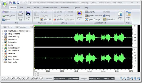 soundrecorder editor