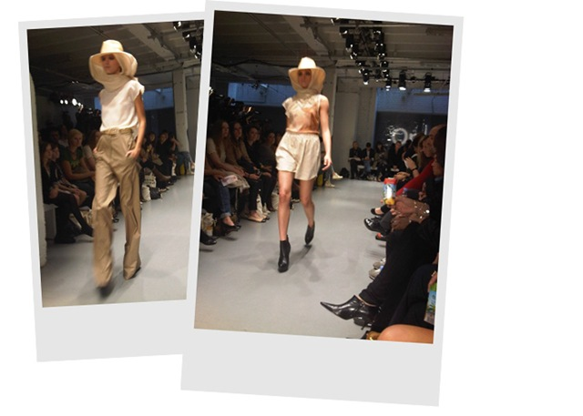 Louise Amstrup 'SS11 Runway