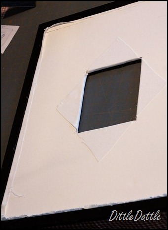 DIY-Double-Frame---fabric-backing-covering