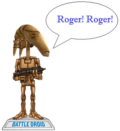 Roger roger!!!