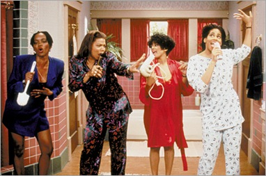 Living Single courtesy OxygenErika Alexander, Queen Latifah, Kim Fields, Kim Coles