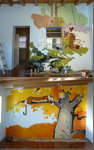 Calvin and Hobbes Room