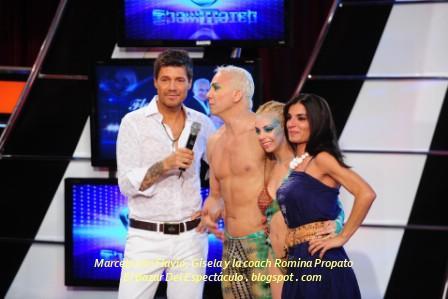 Marcelo con Flavio, Gisela y la coach Romina Propato.JPG