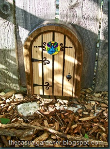 Fairy Door On Gate