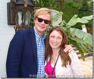P. Allen Smith and Shawna Corondo April 2011