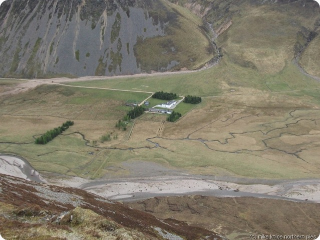 gaick lodge from way above