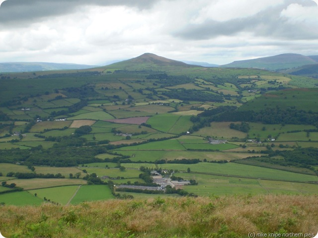 sugarloaf is a nearby hill