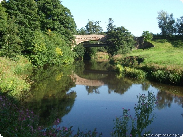 river till and twizell bridge