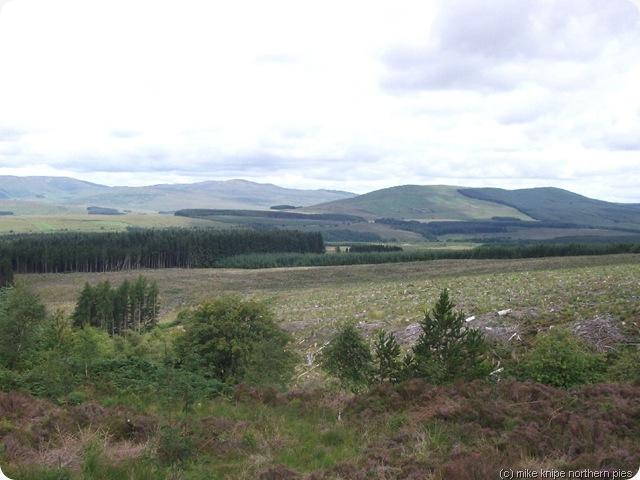 border hills near hermitage