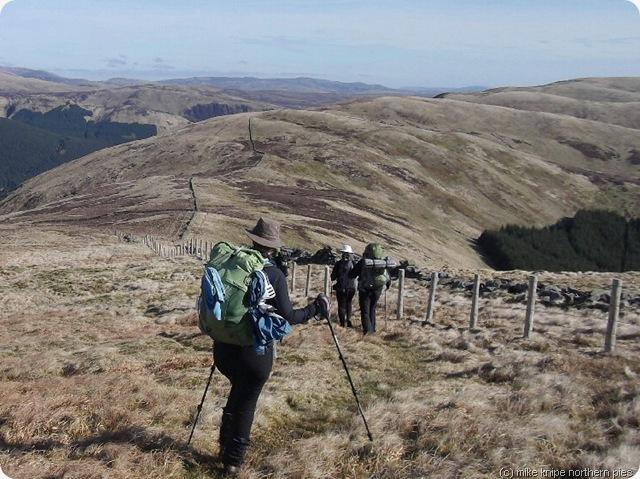 ettrick ridgewalking