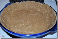 Crust, prior to baking