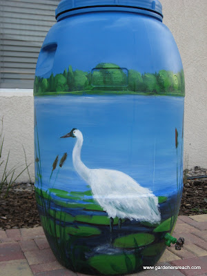 Rain Barrels Are More Than Useful, They Are Art