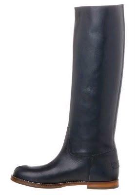 Shabbies Amsterdam Stiefel, schwarz, schwarz