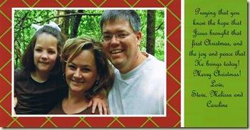g-christmas card
