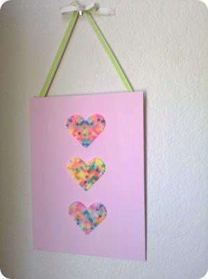 perler bead kids art