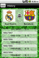 Screenshot of The Football Database