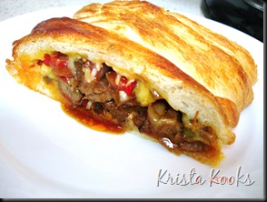 Beef Fajita Crescent Braid 9