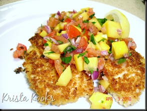 Brazilian Chicken Cutlets with Raw Tropical Sauce Krista Kooks 2