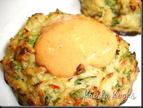 ... Kooks: Baked Lump Crab Cakes with Red Pepper Chipotle Lime Sauce