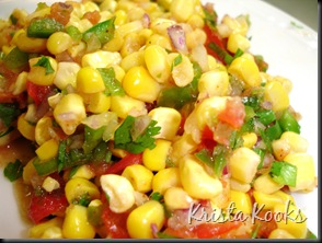 Corn Lime Salsa