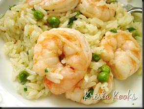 Shrimp, Peas and Rice Krista Kooks 3