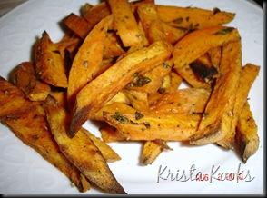 Baked Sweet Potato Fries Krista Kooks