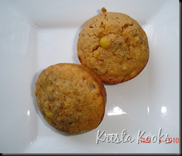 Garlic and Sun-Dried Tomato Corn Muffin Krista Kooks 3