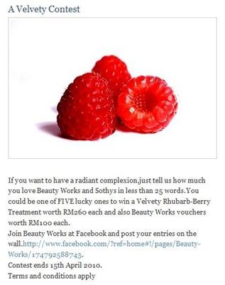 Velvety contest