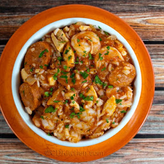 Shrimp And Sausage Jambalaya Slow Cooker Recipes