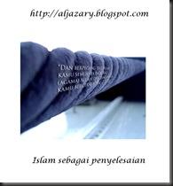 islam sebagai penyeleaian