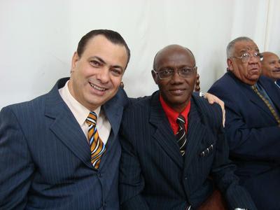Pr. Gerson Filitto e Pr. Pedro Filício