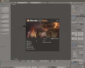 Blender 2.5 Beta en Ubuntu desde repositorio