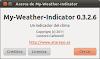 Liberada la versión 0.3.2.6 de my-weather-indicator para Ubuntu