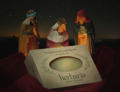 Frankincense and Myrrh handmade soap by Herbaria