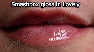 Smashbox Lip gloss review and swatch by Bionic Beauty