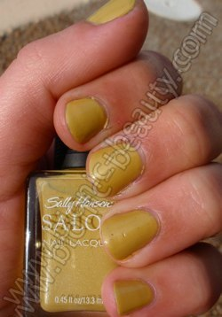Sally Hansen Limited Edition nail polish in Forsythia