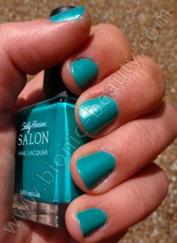 Sally Hansen Limited Edition nail polish in Honeydew