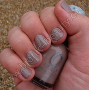 Orly's Prepster Collection nail polish swatch in Country Club Khaki