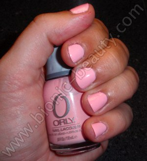 Orly's Prepster Collection nail polish swatch in Polo Princess