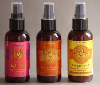 The Bionic Beauty blog reviews Earthly Body's all natural Marrakesh Leave-in hair detangler