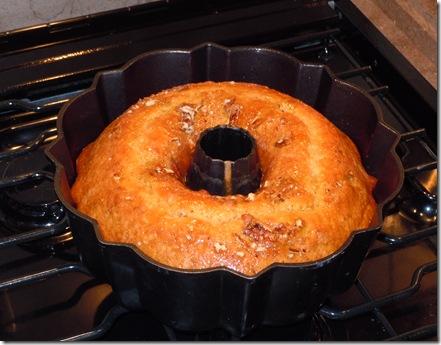 Travels of John and Bridget: Cream Sherry Bundt Cake