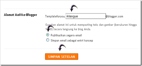 email-blogger
