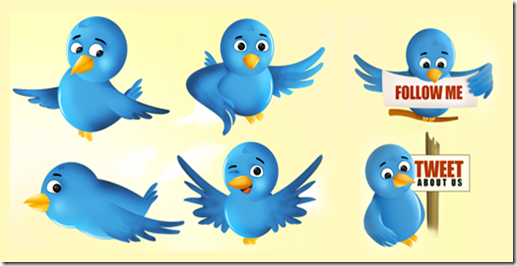 free-twitter-bird-icon-set