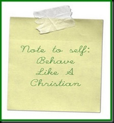 Behave like a Christian 2c