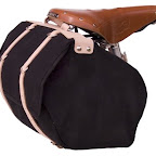 Minnehaha Medium Saddle Bag - Canvas and Leather - $125