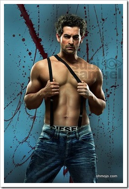 Shirtless Neil Nitin Mukesh