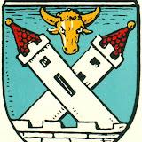 Das Wappen der Stadt Zinten